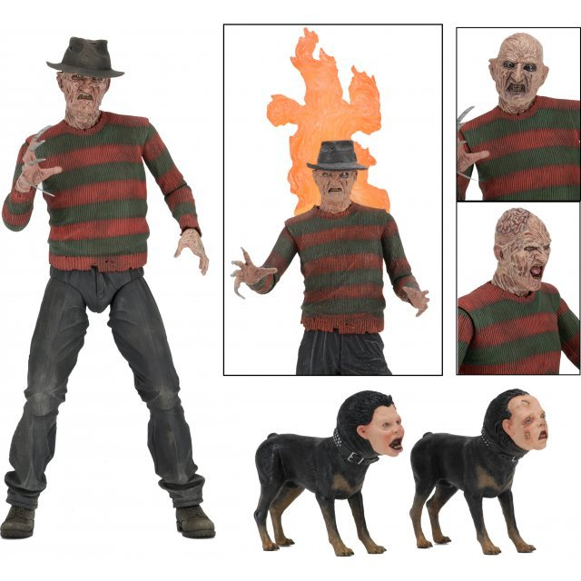 Nightmare on Elm Street​ Action Figure: Ultimate Part 2 Freddy