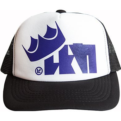 Splatoon 2 King Flip Mesh Cap Purple