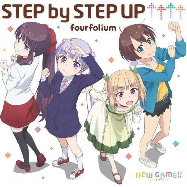 Step By Step Up (New Game!! Intro Theme)