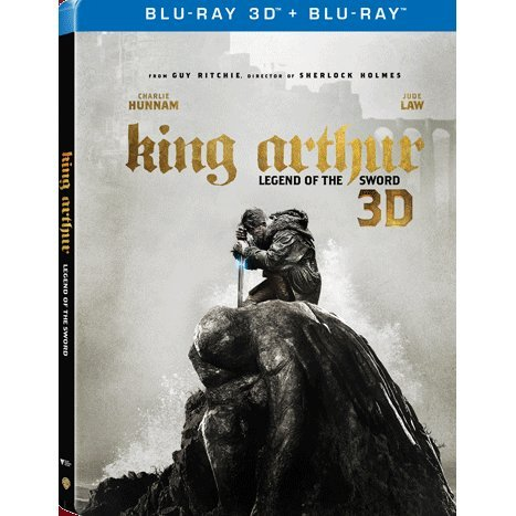King Arthur: Legend Of The Sword 3D (2-Disc) (Steelbook)
