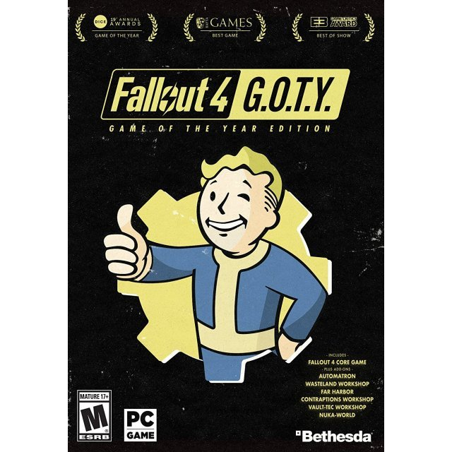 Fallout 4 [Game of the Year Edition] (DVD-ROM)