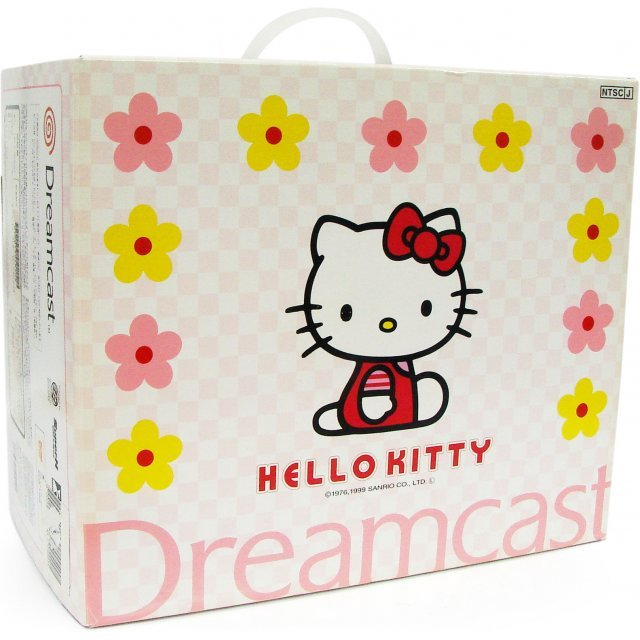Dreamcast Console - Hello Kitty Special Edition Bundle pink version (Japanese version)