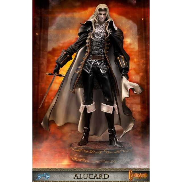 castlevania symphony of the night statue: alucard