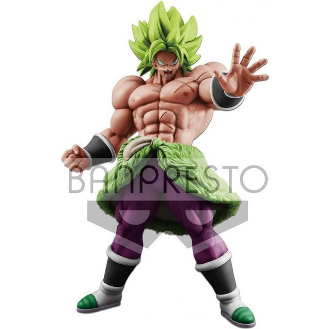 Dragon Ball Broly Full Movie: Dragon Ball Super Broly King Clustar Figure: Super Saiyan