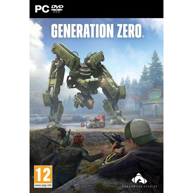 generation zero (dvd-rom)