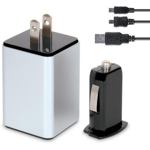 i.Sound Wall & Car Combo Charger Pro for USB Powered Devices