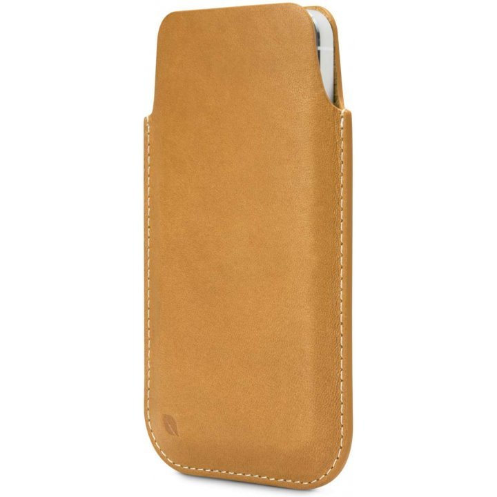 Incase Leather Pouch (Brown/Tan)