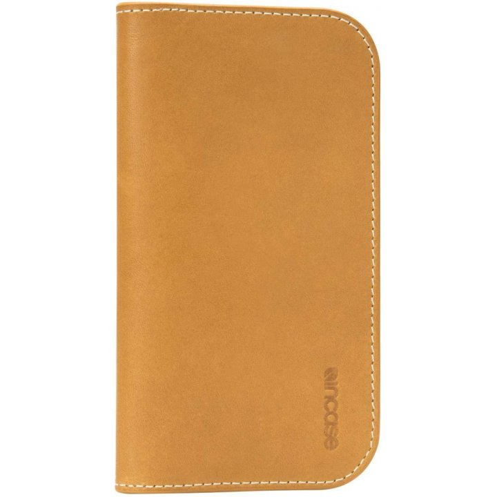 Incase Leather Wallet (Brown/Tan)