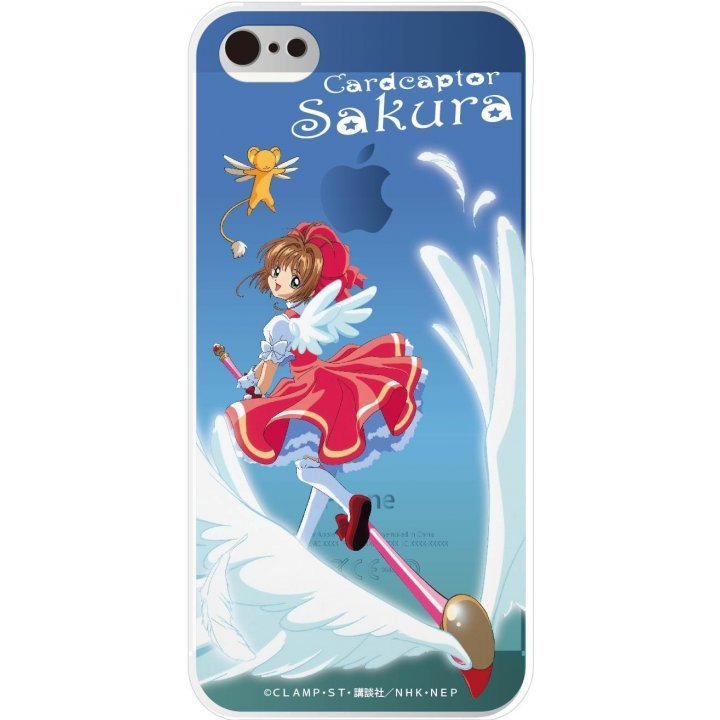 gourmandise Cardcaptor Sakura iPhone5/5S Shell Jacket Flying Sakura CCS-01E