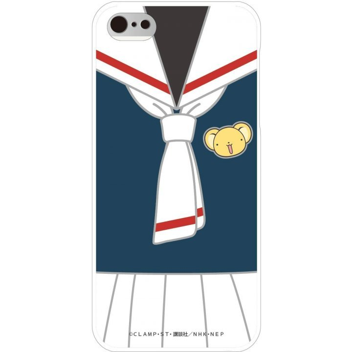 gourmandise Cardcaptor Sakura iPhone5/5S Shell Jacket Tomoe Elementary School CCS-01C