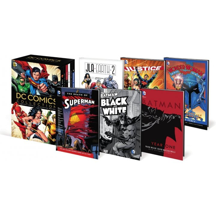 CD Comics Collection: 6 Graphic Novels + 6 Animated Movies [Blu-ray+DVD+Digital Copy]