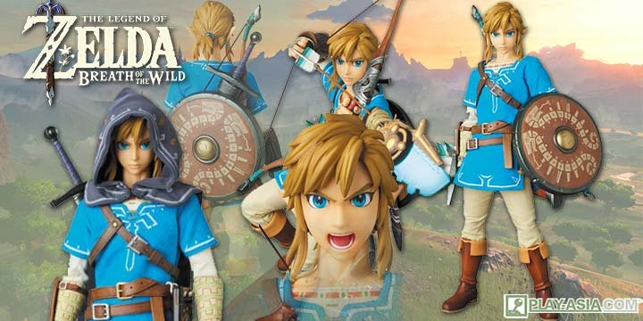 Real Action Heroes The Legend of Zelda 1/6 Scale Action Figure: Link Breath of the Wild Ver.
