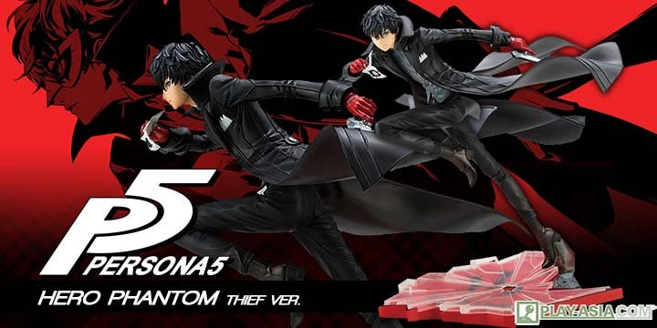 ARTFX J Persona 5 1/8 Scale Pre-Painted Figure: Protagonist Phantom Thief Ver.