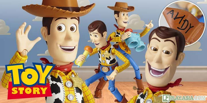 Legacy of Revoltech SCI-FI Revoltech Toy Story: Woody (Re-run)