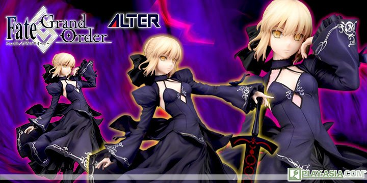 Fate/Grand Order 1/7 Scale Pre-Painted Figure: Saber / Arturia Pendragon Alter Dress Ver.