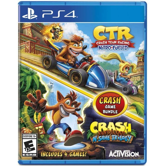 Crash Team Racing Nitro Fueled Crash Bandicoot N Sane Trilogy