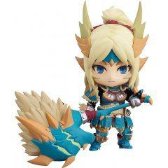 Nendoroid No. 1407 Monster Hunter World Iceborne: Hunter Female Zinogre Alpha Armor Ver. [GSC Online Shop Exclusive Ver.]