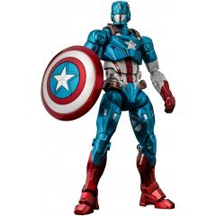 Fighting Armor Captain America Action Figure