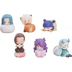 The Legend of Hei Collectible Figures: Wagashi (Set of 6 pieces)