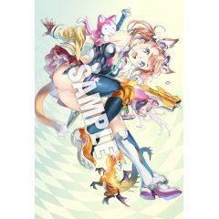 Popular Illustrator B2 Wall Scroll C Nishida 2 Core Magazine