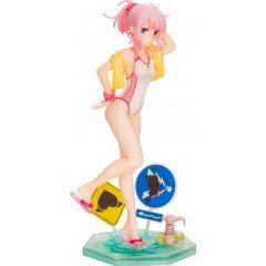 The Demon Girl Next Door Figurine pré-peinte à l'échelle 1/7: Maillot de bain Momo Chiyoda Ver.  Divertissement Medicos