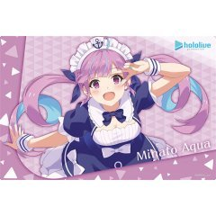 Bushiroad Rubber Mat Collection Vol. 830 Hololive Production Minato Aqua Hololive 2nd Fes. Beyond the Stage Ver.