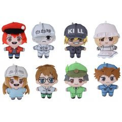 Cells at Work! PuchiNui Mascot (Set of 8 Pieces)