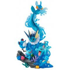 G.E.M. EX Series Pocket Monsters Pre-Painted PVC Figure: Water Type Dive To Blue Mega House