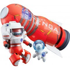 Tenga Robo: Space TENGA Robo DX Rocket Mission Set Good Smile