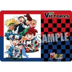 Bakuso Kyodai Let's & Go! TRF Victorys Character Rubber Mat Broccoli