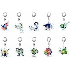 Monster Hunter Rise Environmental Organisms Icon Acrylic Mascot Collection (Set of 10 pieces) Capcom