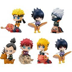 Petit Chara Land Naruto Shippuden New Color! - Summoning Technique Believe It! (Set of 8 Pieces) Mega House