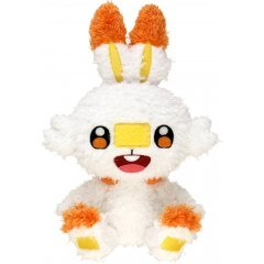Pokemon Mokomoko Plush: Scorbunny Sekiguchi