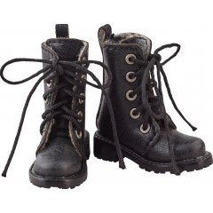 Harmonia Bloom Shoe Series Work Boots / Black Good Smile