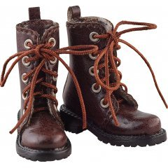 Harmonia Bloom Shoe Series Work Boots / Dark Brown Good Smile