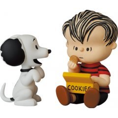 Ultra Detail Figure No. 617 Peanuts Series 12: 50's Snoopy and Linus Medicom