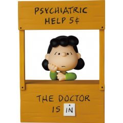 Ultra Detail Figure No. 619 Peanuts Series 12: Psychiatric Help Lucy Medicom