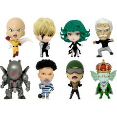16d Collectible Figure Collection: One Punch Man Vol. 2 (Set of 8 Pieces) 16 directions