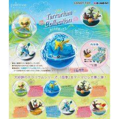 Pokemon Terrarium Collection: In the Season (Set of 6 Pieces) Re-ment