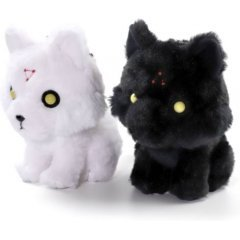 Jujutsu Kaisen Plush Key Chain Set: Divine Dogs (Re-run) Movic