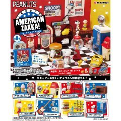 Peanuts Snoopy American Zakka! (Set of 8 Pieces) (Re-run) Re-ment