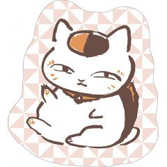 Natsume's Book of Friends Die-cut Gobelin Cushion A: Nyanko Sensei Smile Movic