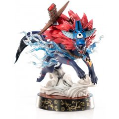 Okami PVC Painted Statue: Oki (Wolf Form) [Standard Edition] First4Figures