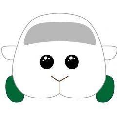 Pui Pui Molcar Dakko Plush: Shiromo Bandai Namco Arts
