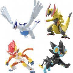 Shodo Pokemon 6: Pokemon (Set of 10) Bandai Entertainment