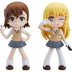 Yurumari A Certain Scientific Railgun T: Mikoto Misaka & Misaki Shokuhou Fine Clover