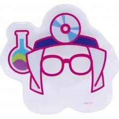 Kirby's Dream Land Kirby Muteki! Suteki! Closet Kirby Shaped Can Badge Cover 3 Doctor Ensky