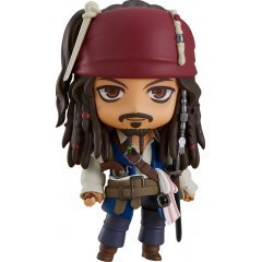 Nendoroid No. 1557 Pirates of the Caribbean On Stranger Tides: Jack Sparrow Good Smile
