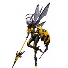 Wasp Girl 1/12 Scale Pre-Painted Action Figure: BEE-03W WASP GIRL Bun-chan Snail Shell