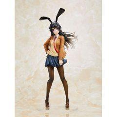 Rascal Does Not Dream of Bunny Girl Senpai Pre-Painted Coreful Figure: Sakurajima Mai Uniform Bunny Ver. Taito